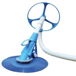 Blue Automatic 16-in Head Suction Vacuum Pool Maintenance Cl