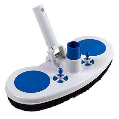 Swimming Pool Vacuum Head Cleaner Cleaning Brush Above Groun