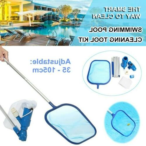Basic Cleaning Maintenance Swimming Pool Kit With Vacuum、N