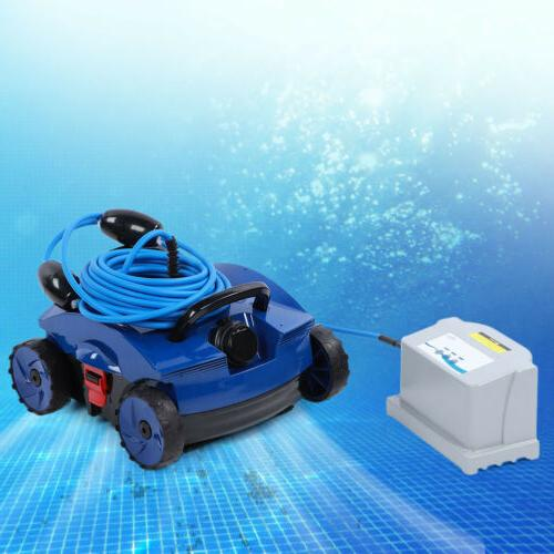 Robotic Swimming Pool Cleaner Full Automatic Pool Underwater