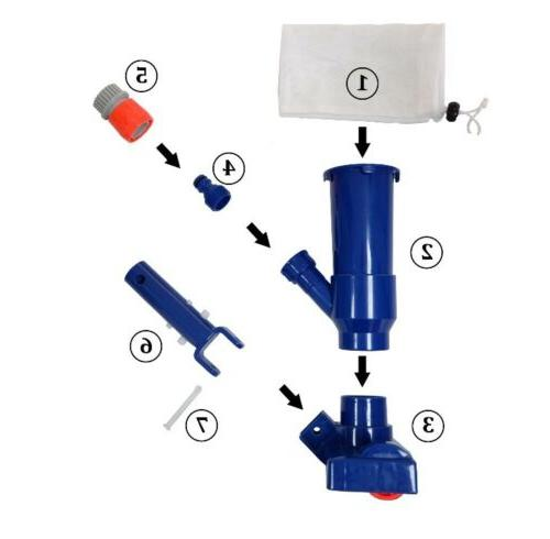 Mainstays Pool Vacuum Head for Small Above Swimming Pool