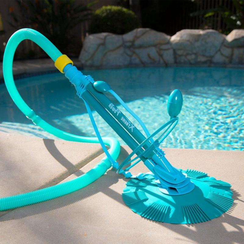 Vacuum Pool Suction Kit In Above Ground Filtration
