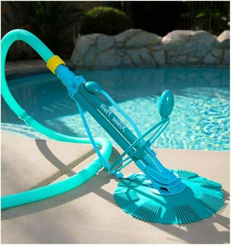 xtremepowerus complete set automatic suction pool cleaner