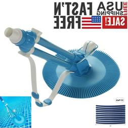 Swimming Pool Automatic Vacuum Cleaner Climb Wall Floor Craw