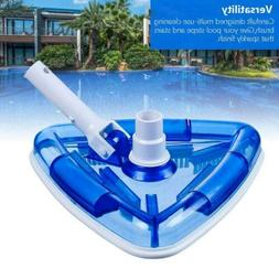 Swimming Pool Cleaner Triangular Vacuum Head with Brush for