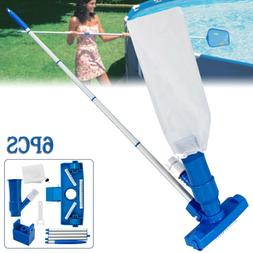 Swimming Pool Cleaning Kit Maintenance Above Ground Skimmer