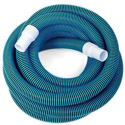 Swimming Pool Deluxe 30FT No Kinks Vacuum Hose w/ Swivel Cuf