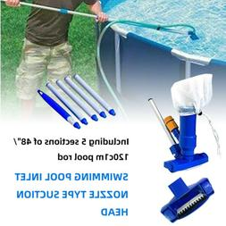 Swimming Pool Jet Vacuum With Pole Vac Suction Hoover Cleane