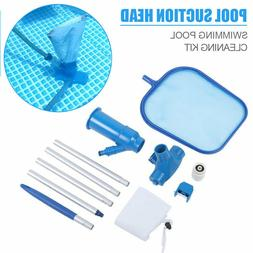 Swimming Pool Vacuum Cleaning Tool Set Suction Head Professi