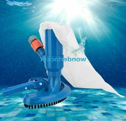 Swimming Spa Pool Pond Suction Vacuum Head Brush Cleaner Fou