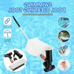 US Swimming Pool&Spa Pond Fountain Vacuum Brush Cleaner Clea